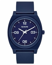Nixon Time Teller P Corp 2 Watch - Navy & White
