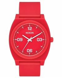 Nixon Time Teller P Corp 2 Watch - Red & White