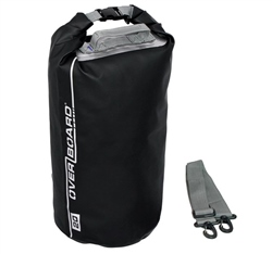 Overboard 20L Dry Tube Bag - Black