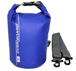 Overboard 5L Dry Tube Bag - Blue