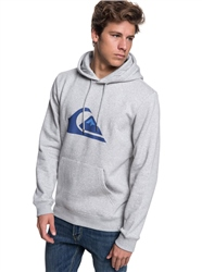 Quiksilver Big Logo Hoody - Light Grey Heather