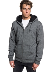 Quiksilver Everyday Fur Hoody - Dark Grey Heather