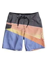 Quiksilver Slash Fade Boardshorts - Iron
