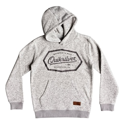 Quiksilver Keller Art Hoody - Light Grey