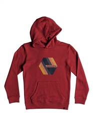 Quiksilver Retro Right Hoody - Garnet