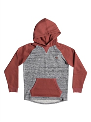 Quiksilver Stimpies Hoody - Mineral Red