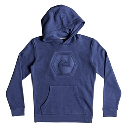 Quiksilver Swell Emb Hoody - Blue