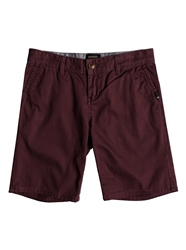 Quiksilver Everyday Chino Walkshorts - Wine