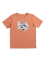 Quiksilver Days On T-Shirt - Orange