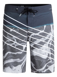 Quiksilver Lava Slash Boardshorts - Blue Night