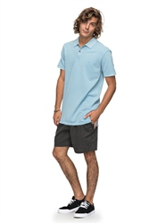 Quiksilver New Miz Polo Shirt - Dusk Blue