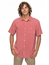 Quiksilver Time Box Shirt - Mineral Red
