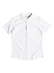 Quiksilver Timebox Shirt - Snow White
