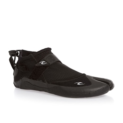 Rip Curl Reefer 1.5mm Wetsuit Boots - Black & Charcoal