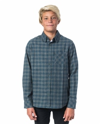 Rip Curl Heather Check Shirt - Navy