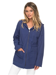 Roxy Crazy Clouds Jacket - Deep Cobalt