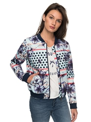 Roxy Rock N Smile Jacket - Blue