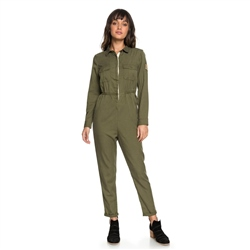 Roxy Come On Jumpsuit - Olive