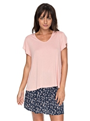 Roxy All About Sun Top - Rose Tan