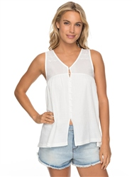 Roxy Delila Lace Top - Mallow