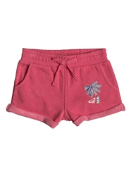 Roxy Laugh Solid Boardshort - Red