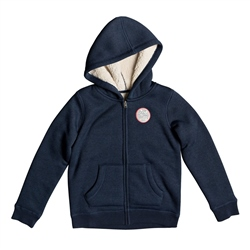 Roxy Search Fur Hoody - Blue