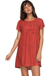 Roxy Dark To Light Dress - Tandoori Spice