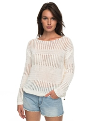 Roxy Blush Seaview Jumper - Mallow