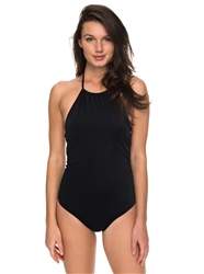 Roxy Essential Swimsuit - Anthracite