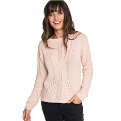 Roxy Glimpse Jumper - Peach