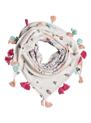 Roxy On The Boat Scarf - Marshmallow