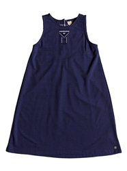 Roxy Take Me Back Dress - Deep Cobalt