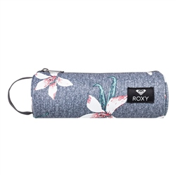 Roxy Off The Wall Pencil Case - Charcoal
