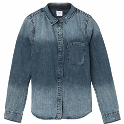 RVCA Unearthed Shirt - Indigo