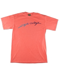 Sex Wax Neon Script T-Shirt - Orange