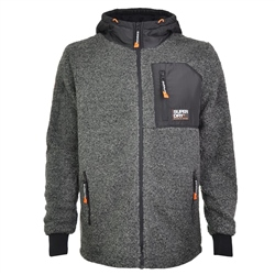 Superdry Mountain Fur Hoody - Grey