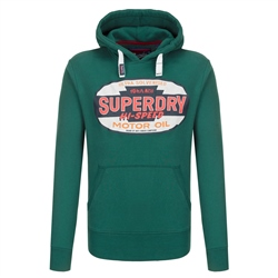 Superdry Reworked Hoody - Green