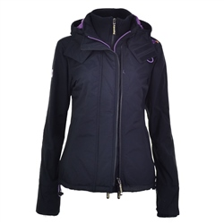 Superdry Arctic Jacket - Navy & Purple