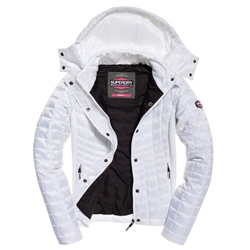 Superdry Nova Box Jacket - White