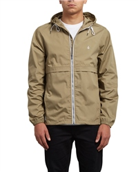 Volcom Howard Hooded Jacket - Sand