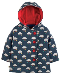 Frugi Cosy Button Jacket - Cloud