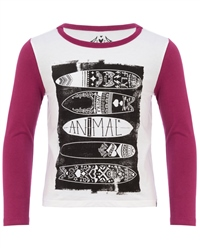 Animal Maaka T-Shirt - Purple