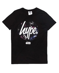 Hype Death Star T-Shirt - Black
