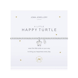 Joma Jewellery Happy Turtle Bracelet - Silver