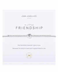 Joma Jewellery Ladies Friendship Bracelet - Grey