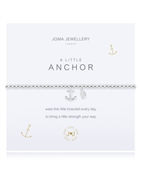 Joma Jewellery Little Anchor Bracelet - Silver