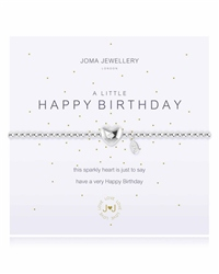 Joma Jewellery Little Birthday Bracelet - Silver