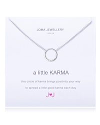 Joma Jewellery Little Karma Necklace - Silver