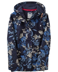 Joules X Coast Print Jacket - Navy