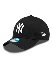 New Era League Basic Cap - Black & White